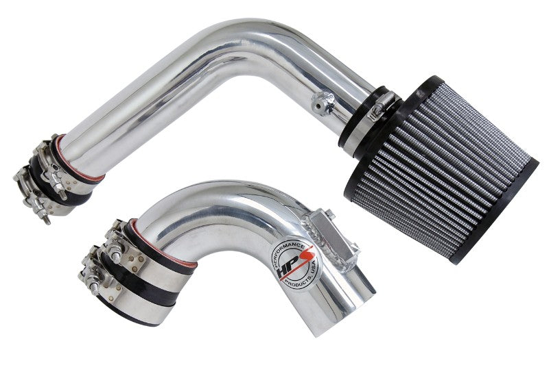 HPS Polish Cold Air Intake Kit with Filter For 03-09 Mazda Mazda3 2.0L/2.3L-Air Intake Systems-BuildFastCar-837-165P-1