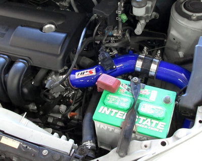 HPS Blue Cold Air Intake Kit with Filter For 03-04 Pontiac Vibe 1.8L-Air Intake Systems-BuildFastCar-837-513BL-1