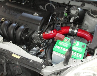 HPS Red Cold Air Intake Kit with Filter For 03-04 Toyota Matrix XR 1.8L-Air Intake Systems-BuildFastCar-837-513R-3