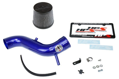 HPS Blue Cold Air Intake Kit with Filter For 13-16 Dodge Dart 2.4L Non Turbo-Air Intake Systems-BuildFastCar-837-571BL