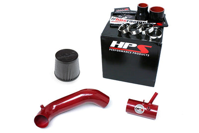 HPS Performance Red Cold Air Intake for 2013-2014 Dodge Dart 1.4L Turbo-Air Intake Systems-BuildFastCar-837-576R