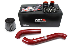 HPS Performance Red Cold Air Intake for 1998-2002 Honda Accord 2.3L DX EX LX VP SE-Air Intake Systems-BuildFastCar-837-579R