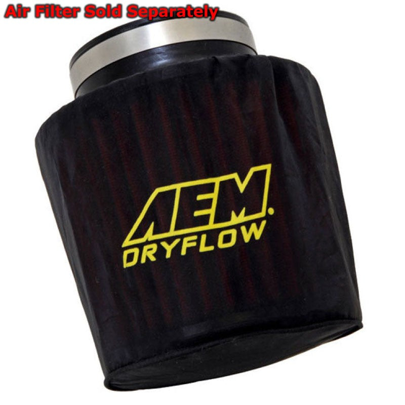 AEM AEM-1-4000 Round Pre-Filter Wrap for Shortram Cold Air Intake CAI Hydro Lock-Filter-BuildFastCar