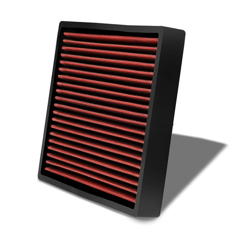 Red High Flow OE Style Drop-In Panel Cabin Air Filter For Camry IS200t iM tC-Interior-BuildFastCar