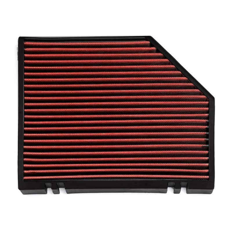 Red High Flow OE Style Drop-In Panel Cabin Air Filter For Audi A6/Porsche Macan-Interior-BuildFastCar