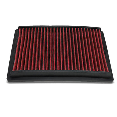 Red High Flow Cotton OE Style Drop-In Panel Air Filter For 12-17 Sonic 1.8L 1.4T-Performance-BuildFastCar