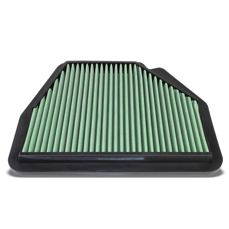 Green High Flow Cotton OE Style DropIn Panel Air Filter For 07-15 Opel Antara V6-Performance-BuildFastCar
