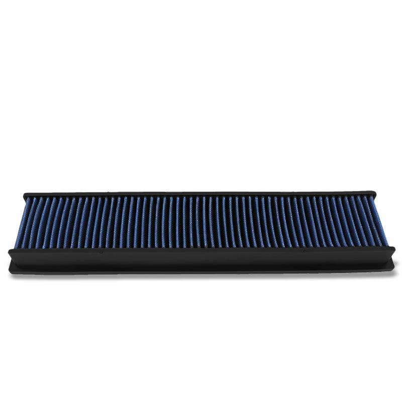 Blue High Flow Cotton OE Style Drop-In Dry Panel Air Filter For Citroen Berlingo-Performance-BuildFastCar