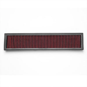 Red High Flow Direct Replacement Drop-In Panel Air Filter For 10-14 Peugeot 408-Performance-BuildFastCar