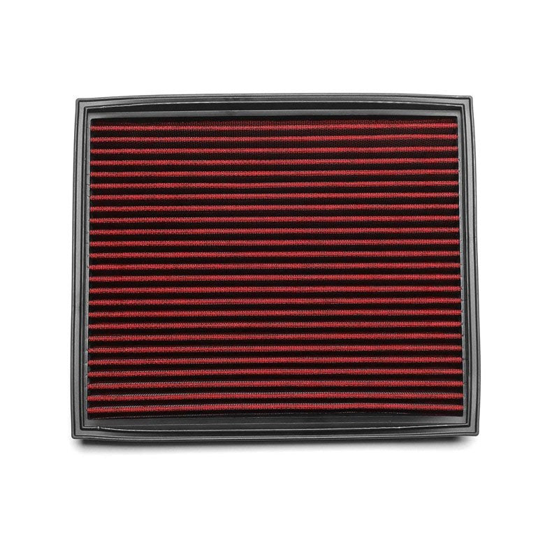 Red High Flow Performance OE Drop-In Panel Air Filter For BMW 535i 3.0L Turbo-Performance-BuildFastCar