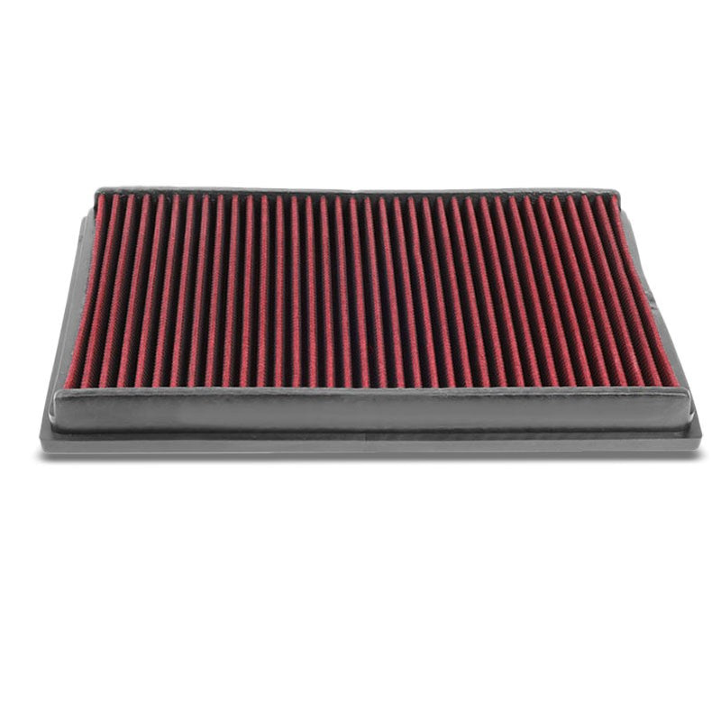Red High Flow Cotton Direct OE Style Drop-In Panel Air Filter For 10-15 AMG SLS-Performance-BuildFastCar