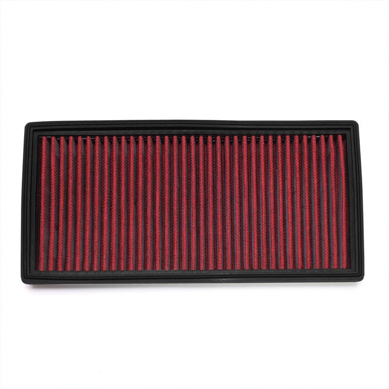 Red High Flow Replacement OE Drop-In Panel Air Filter For 08-15 Benz C63 AMG-Performance-BuildFastCar