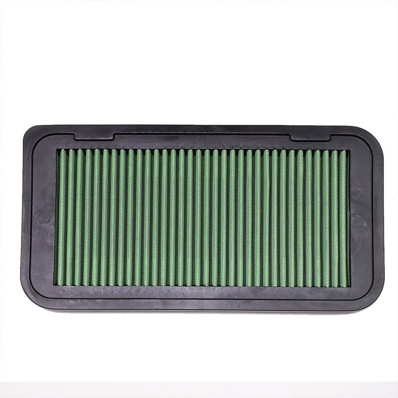 Green High Flow Cotton OE Style Drop-In Panel Air Filter For 13-17 Scion FRS-Performance-BuildFastCar