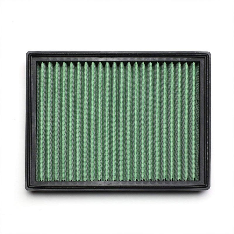Green High Flow OE Style Drop-In Panel Air Filter For 96-00 Vahuxhall Corsa MK I-Performance-BuildFastCar