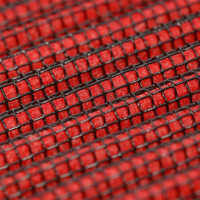 Red High Flow Cotton Washable OE Drop-In Panel Air Filter For Lexus 02-10 SC430-Performance-BuildFastCar