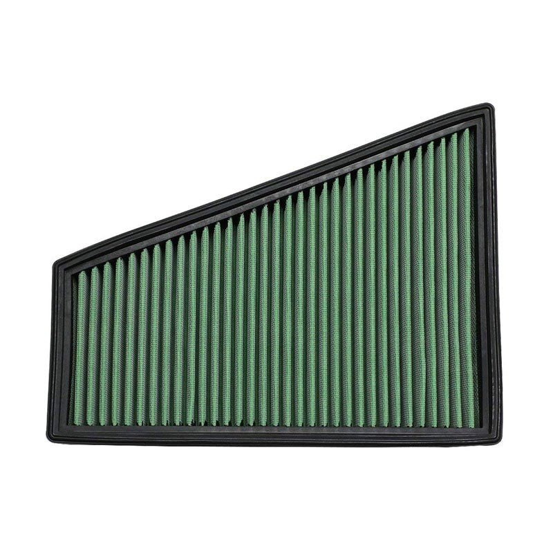 Green High Flow Performance Drop-In Panel Air Filter For 06-15 Ford S-MAX L4-Performance-BuildFastCar