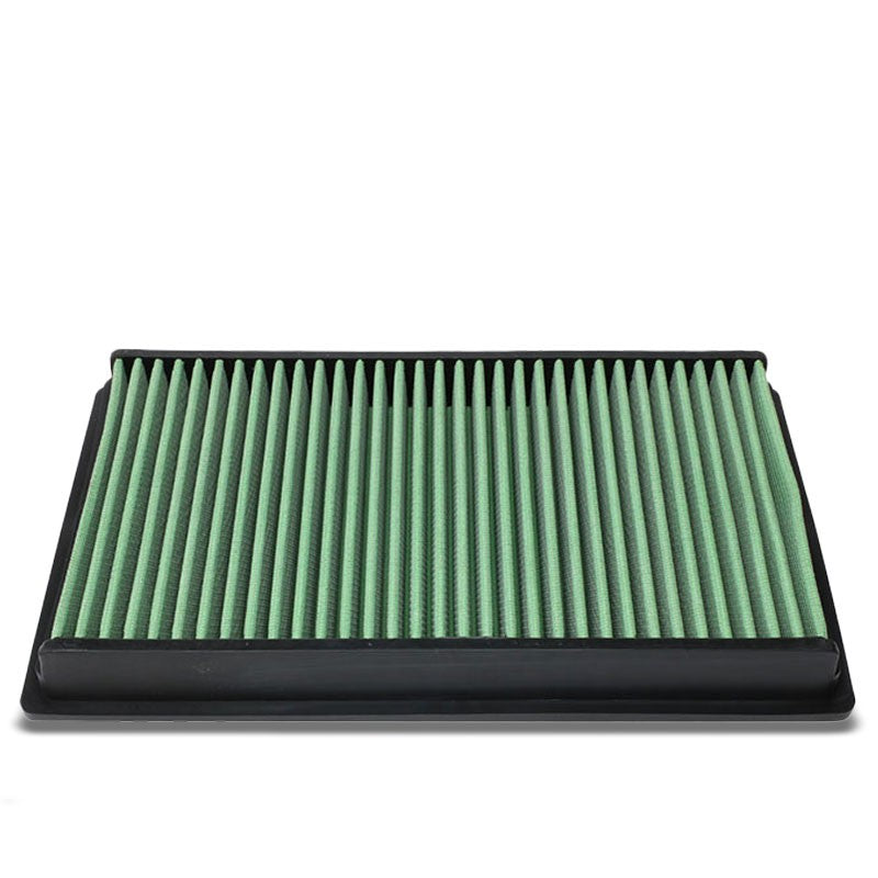 Green High Flow OE Style Drop-In Panel Air Filter For 07-15 Nissan Altima V6-Performance-BuildFastCar