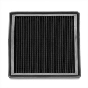Black High Flow Performance Drop-In Panel Air Filter For 14-17 VW Sportvan L4-Performance-BuildFastCar