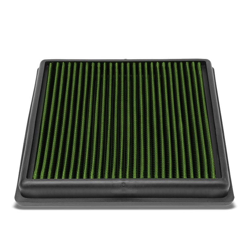 Green High Flow Washable OE Style Drop-In Panel Air Filter For 14-17 Sportvan L4-Performance-BuildFastCar