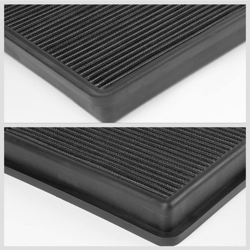Black High Flow Washable OE Style Drop-In Panel Air Filter For 10-15 Camaro-Performance-BuildFastCar