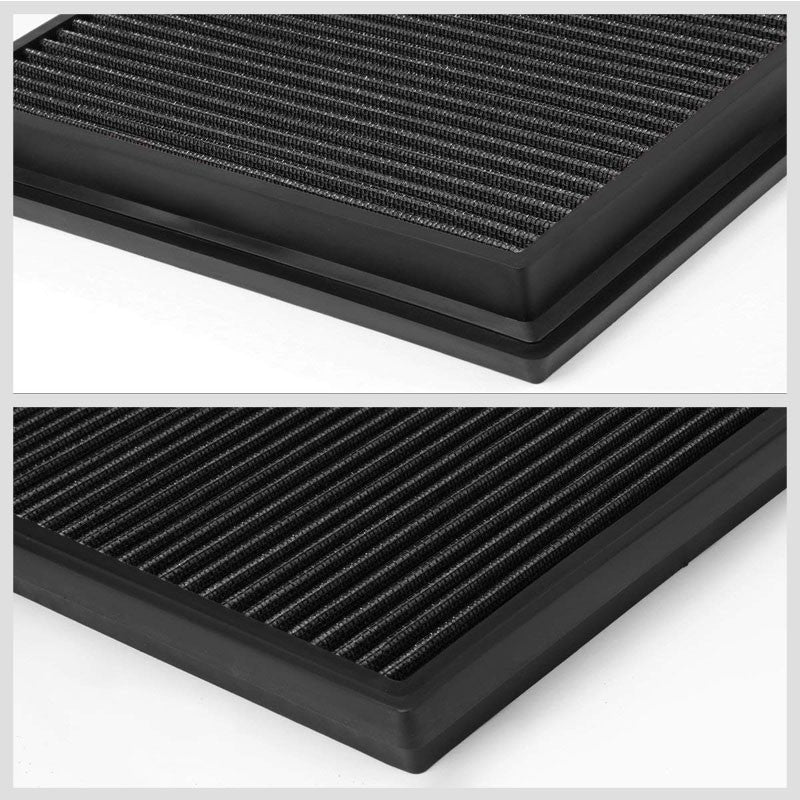 Black High Flow OE Style DropIn Panel Air Filter For Toyota Hilux/Fotuner Diesel-Performance-BuildFastCar