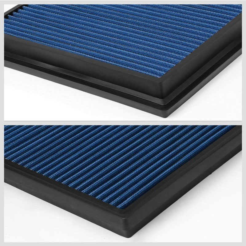 Blue High Flow OE Style Drop-In Panel Air Filter For Toyota Hilux/Fotuner Diesel-Performance-BuildFastCar