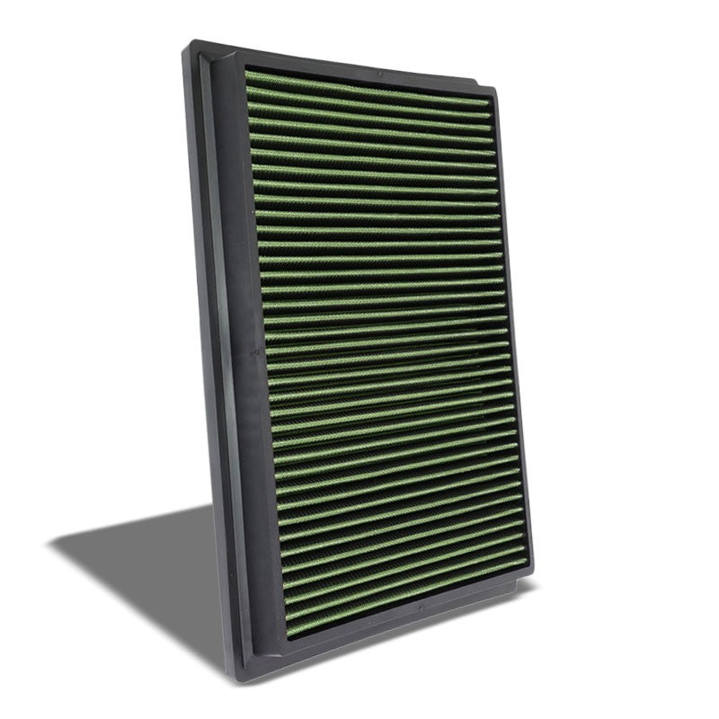 Green High Flow OE Style DropIn Panel Air Filter For Toyota Hilux/Fotuner Diesel-Performance-BuildFastCar