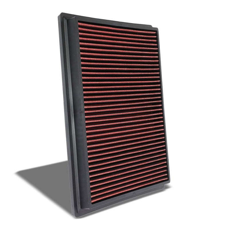 Red High Flow OE Style Drop-In Panel Air Filter For Toyota Hilux/Fotuner Diesel-Performance-BuildFastCar