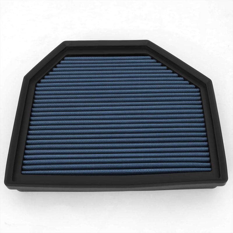 Blue Cotton OE Style Dry Drop-In Panel Air Filter For 12-UP BMW M3/M4/M5/M6-Performance-BuildFastCar