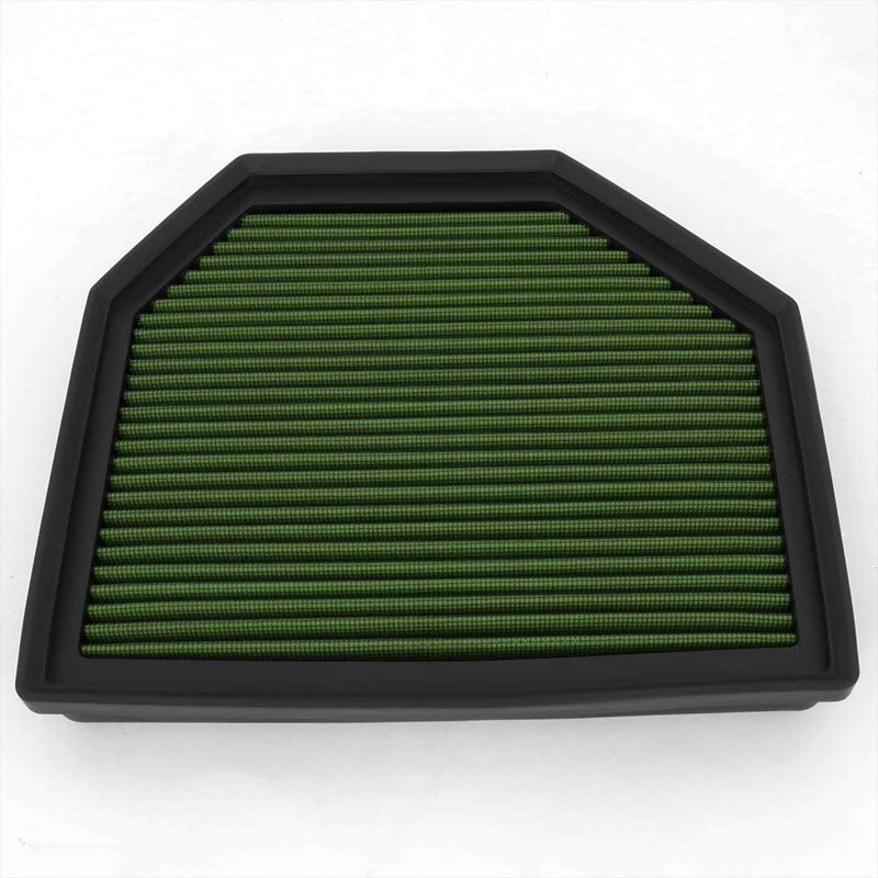 FOR BMW 3//5 SERIES M3//Z3//Z4 GREEN REPLACEMENT RACING DROP IN AIR FILTER PANEL