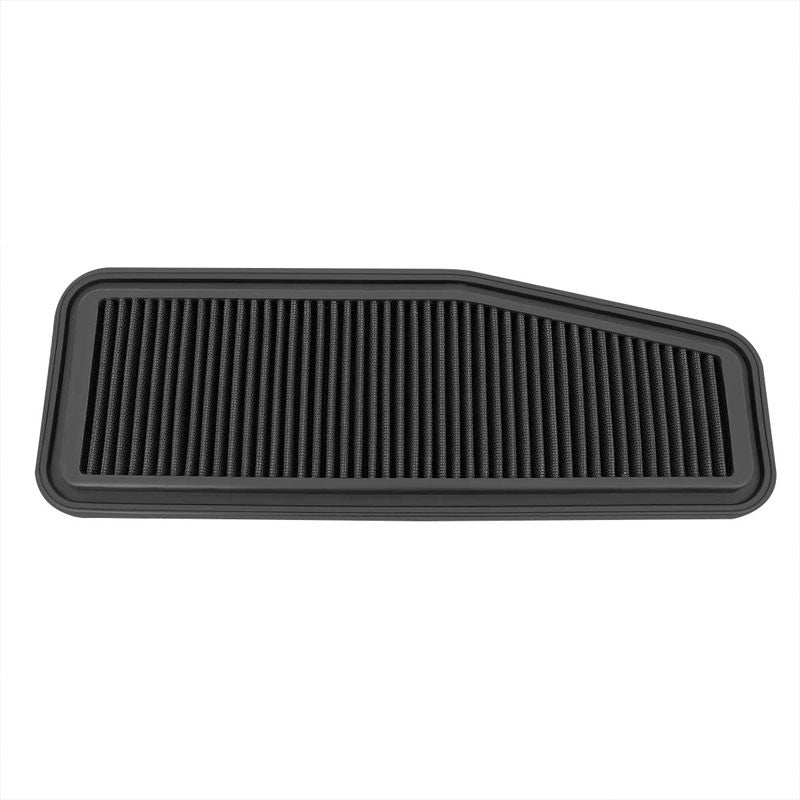 Black Cotton OE Style Drop-In Panel Air Filter For 01-05 Toyota Rav4 2.0L/2.4L-Performance-BuildFastCar