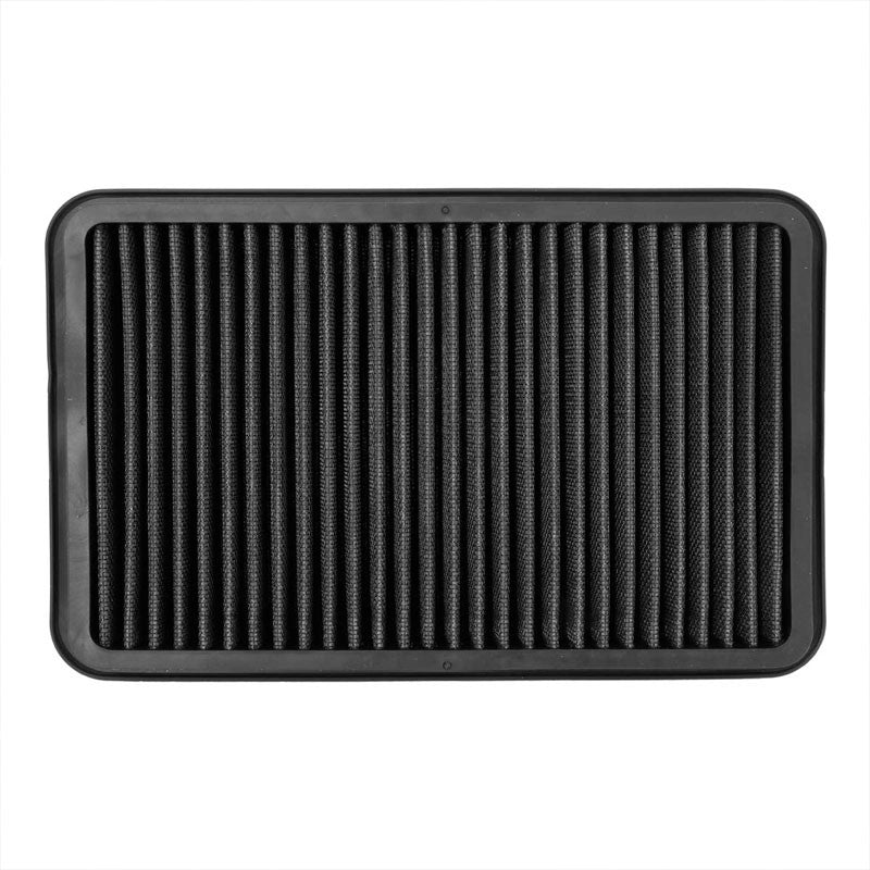 Black Cotton OE Style Drop-In Panel Air Filter For 92-02 Toyota Corolla 1.6L-Filter-BuildFastCar-BFC-AIRFILPAN-183-BK