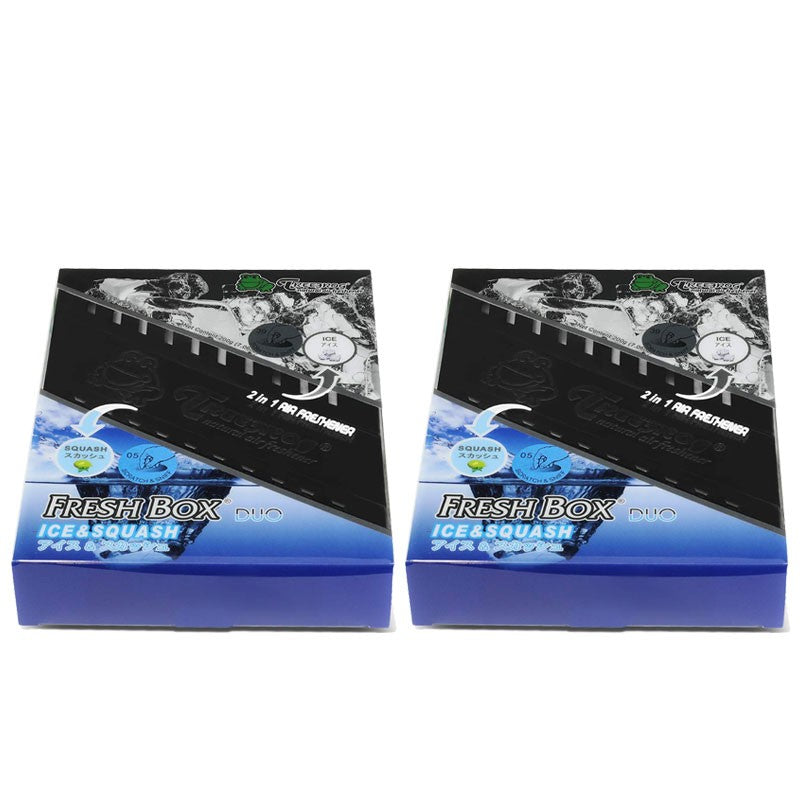 2xBox ICE/ Squash Scent Gel 200g Auto/Car/Home/Office/Toilet Air Freshener-Accessories-BuildFastCar