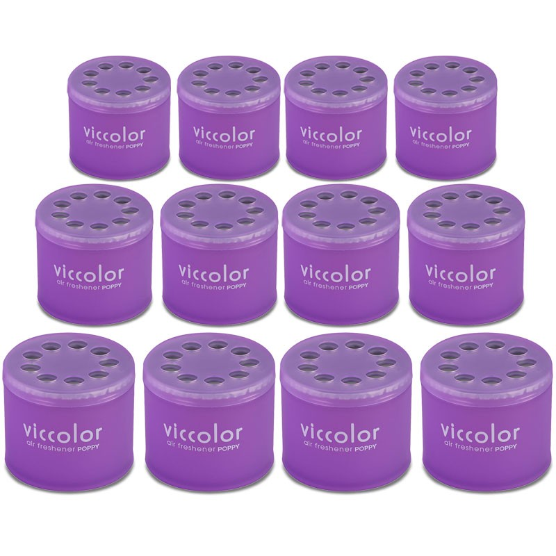 12x Viccolor Gel Based Can/Sexy Air Scent Air Freshener Automotive Car Van