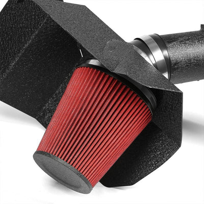 Cold Air Intake Kit Black Pipe+Heat Shield For Dodge 03-07 Ram 25/3500 L6 Diesel-Performance-BuildFastCar