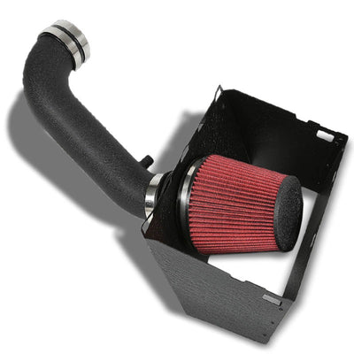 Cold Air Intake Kit Black Pipe+Heat Shield For Dodge 09-14 Ram 1500/2500/3500 V8-Performance-BuildFastCar