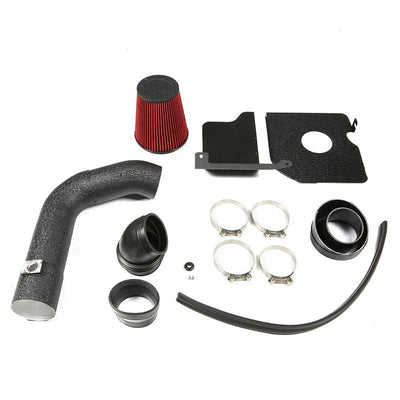 Cold Air Intake Kit Black Pipe+Heat Shield For Chevy 04-05 Silverado 2500 HD V8-Performance-BuildFastCar