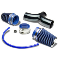 Dual Shortram Air Intake Kit Black Pipe+Blue Filter for Dodge 02-10 Ram 1500-Performance-BuildFastCar