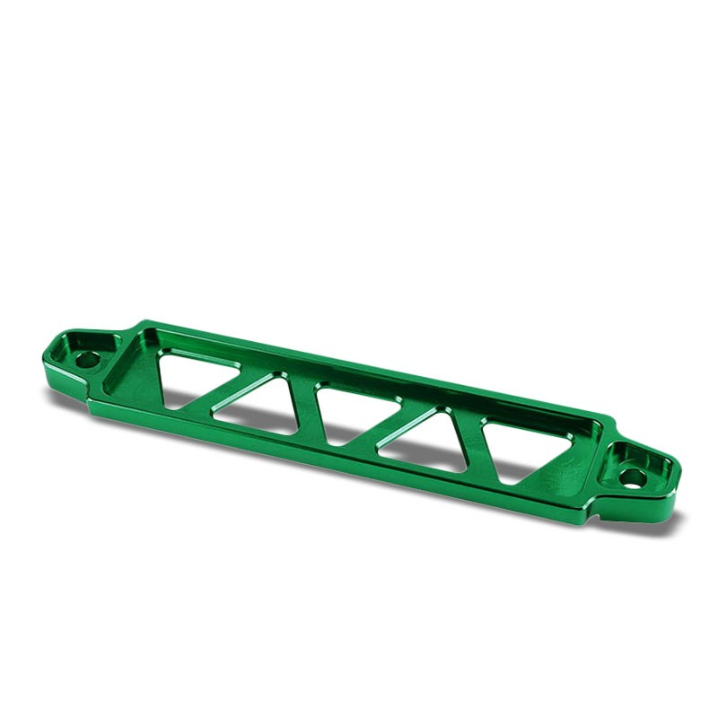 190MM/220MM Green Billet Aluminum Car Battery Tie Down Mount Bracket Long Bar-Performance-BuildFastCar