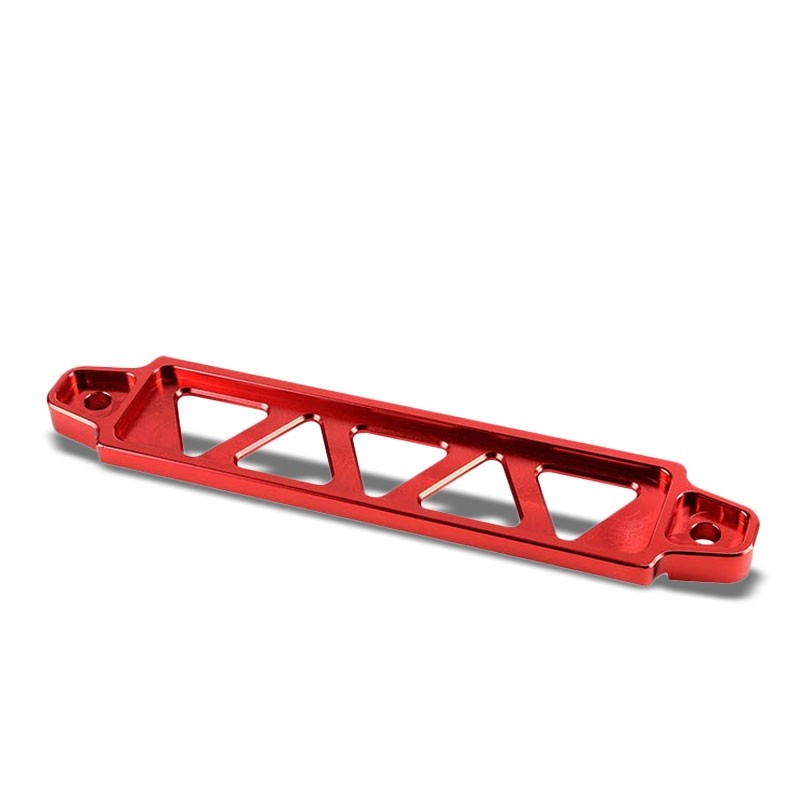 190MM/220MM Red Billet Aluminum Car Battery Tie Down Mount Bracket Long Bar-Performance-BuildFastCar