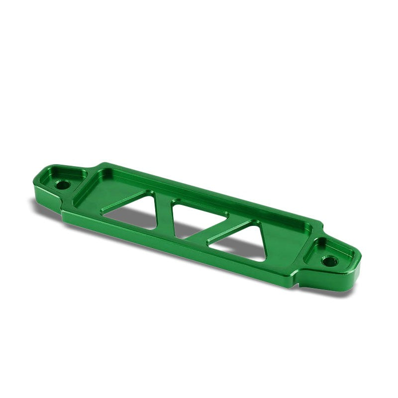 145MM/170MM Green Billet Aluminum Car Battery Tie Down Mount Bracket Short Bar-Performance-BuildFastCar