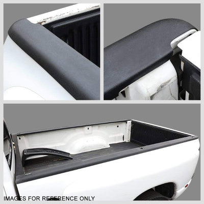 Black Cargo Truck Bed Cap Molding Rail Protector Cover For 96-04 Tacoma 6FT Bed-Exterior-BuildFastCar