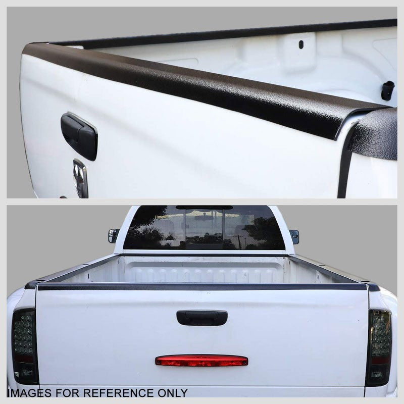 Rear Tailgate Truck Bed Cap Molding Rail Protector Cover For 88-98 Chevy GMC C/K-Exterior-BuildFastCar