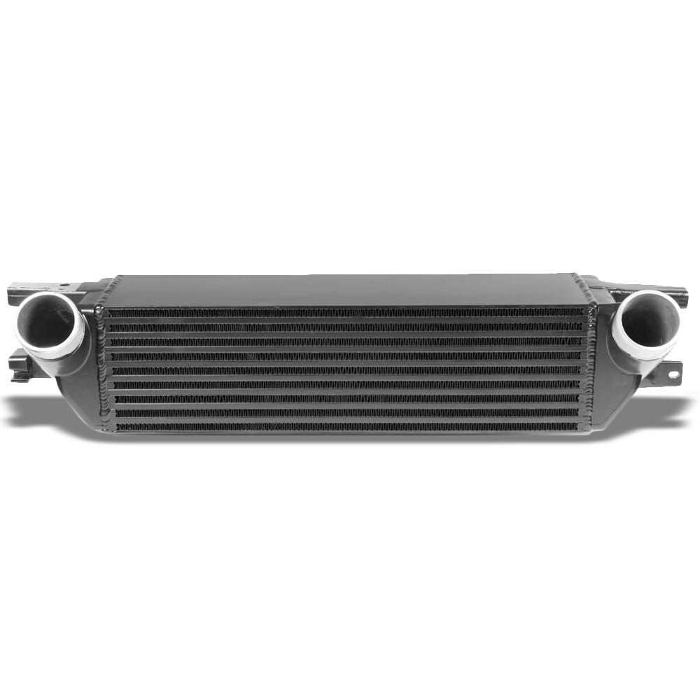 Black Front Mount Bar&Plate Intercooler 21X5.75 For 15-19 Mustang 2.3L Ecoboost