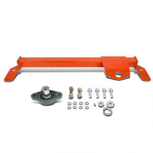 Red Steel Steering Stabilizer Brace/Bar Type 2 For 03-08 Ram 1500/2500/3500 4WD-Suspension-BuildFastCar