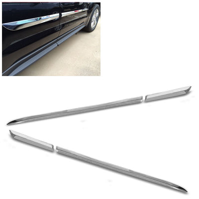 Silver Chrome Stick-on Body Side Molding Door Trim Body Protect 10-20 Equinox