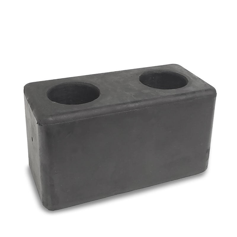Molded Rubber Bumper Dock Buffer 6x3x3 For CHASSIS/TRAILERS/TRUCK/FLATBED/REEFER-Wheel Parts-BuildFastCar-BFC-MBUMP-01
