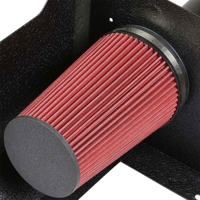 Cold Air Intake Kit Black Pipe+Heat Shield For Chevy/GMC 07-09 Yukon/Sierra 1500-Performance-BuildFastCar