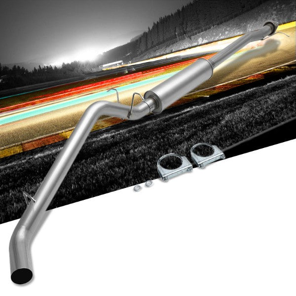 "3.00"" Muffler Tip Stainless Steel Catback Exhaust Kit For 15-16 Chevy Colorado-Performance-BuildFastCar"