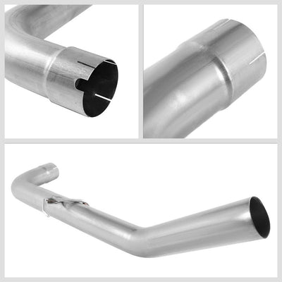 Filter Back Exhaust Pipe Muffler Tip Kit For 13-18 Ram 2500 3500 6.7L Diesel-Exhaust Systems-BuildFastCar-BFC-FBEX-13RAM2535-TD